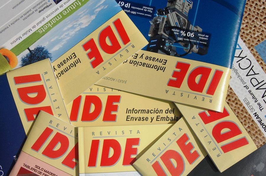 Publicación en la revista IDE Información del Envase y Embalaje